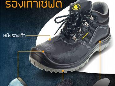 ส่วนประกอบของ รองเท้าเซฟตี้
